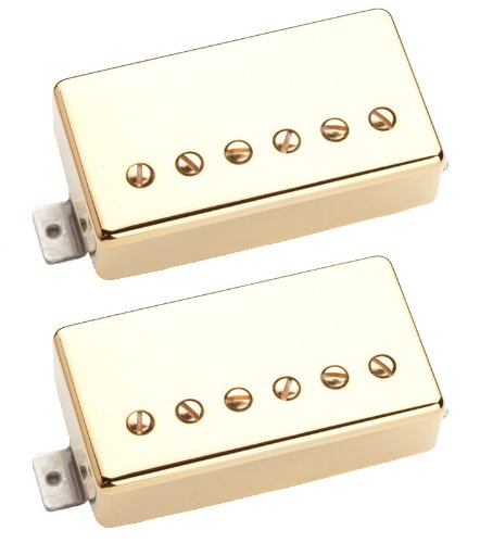 Seymour Duncan Saturday Night Special Humbucker Pickups - Gold Cover Set ()