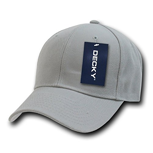 Decky Fitted - Gorra para Hombre gris
