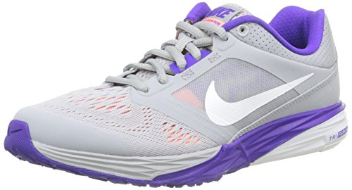 Cheap NIKE Women's Tri Fusion Run WLF Gry/White FRC Prpl ATMC PN Running Shoe 6 Women US