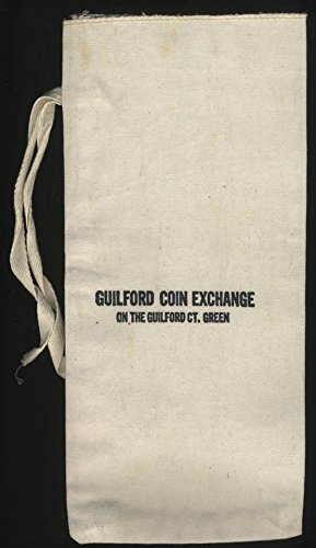 - Guilford Coin Exchange on the Guilford Ct Green cloth bag with tie