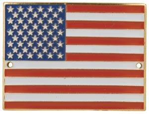 United States Flag - Hiking Stick Medallion