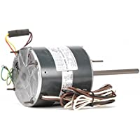1/2 to 1/6 HP Condenser Fan Motor,Permanent Split Capacitor,1075 Nameplate RPM,208-230 Voltage,Frame