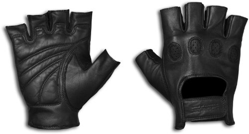 Strong Suit 20600-M Strong Suit On Tour Fingerless Motorcycle Gloves Medium 20600-M