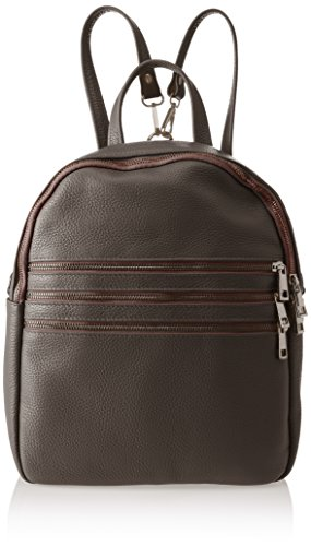 Cm 1 dark Borsa 8702 L 28x32x15 Donna Borse Marrone Zainetto w Chicca H X Brown A nWHx86q4