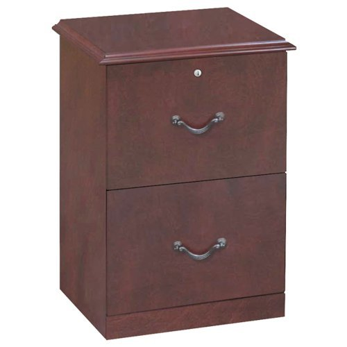 (Z-Line Designs 2-Drawer Vertical File Cabinet, Cherry)