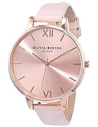 Olivia Burton OB16BD94 - Reloj analógico de cuarzo para mujer con correa de piel