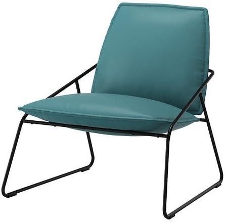 IKEA VILLSTAD Samsta Sessel Turquoise: Amazon.co.uk