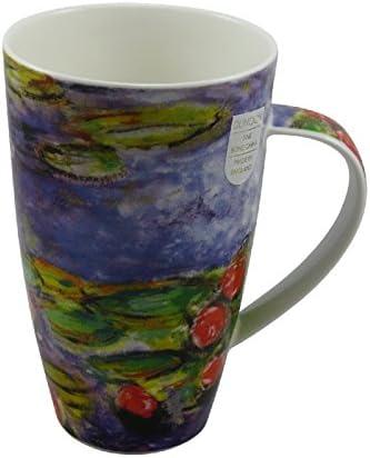 Tassen Henley Monet inspired für 600ml Formano 3er Set Dunoon Becher