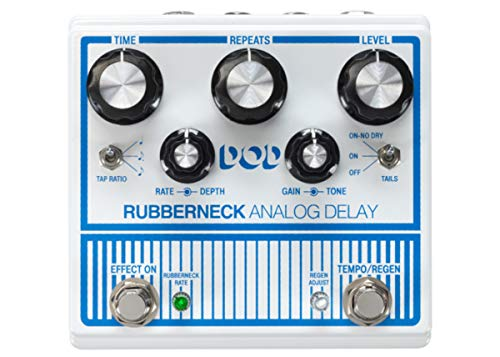 Other Guitar Delay Effects Pedal (DOD-RUBBERNECK-U) (Best Delay Pedal For The Money)