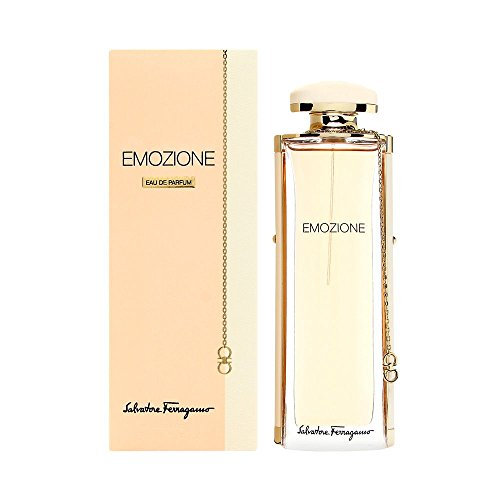Salvatore Ferragamo Emozione Eau de Parfum, 3.1 Fluid Ounce (Best Salvatore Ferragamo Perfume)