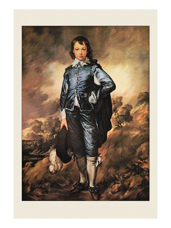 The Blue Boy Fine Art Poster Print by Thomas Gainsborough