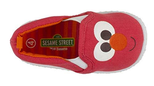 fc6de3b7a1b5f Sesame Street Elmo and Cookie Monster Prewalker Baby Shoes, Infant Shoe  Sizes 2 to 5