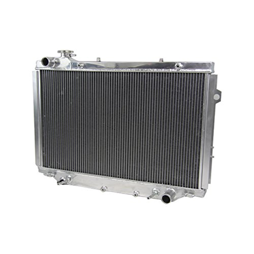 Primecooling 3 Row Core Full Aluminum Radiator for Toyota Land Cruiser V8 /L6 Engine 1990- 98 (Auto Trans/ AT ) (Radiator Toyota Land Cruiser compare prices)