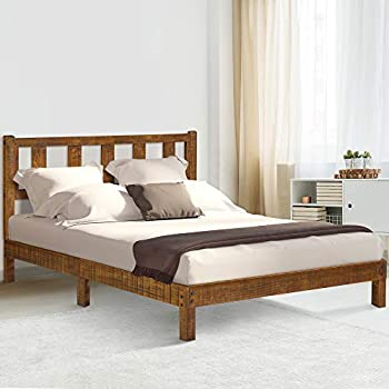 Amazon Com Primasleep Pr40sf03f Deluxe Solid Platform Bed