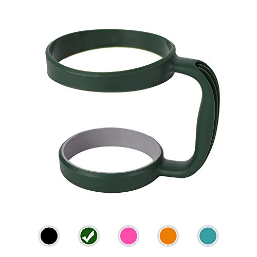 Handle for Yeti, 5 Colors Handle available for 30oz YETI Rambler, RTIC, OZARK TRAIL, SIC CUP Tumbler & more ( Dark green)