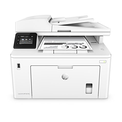 (HP Laserjet Pro M227fdw All-in-One Monochrome Wireless Laser Printer with Auto Two-Sided Printing, Mobile Printing, Fax & Built-in Ethernet, Amazon Dash Replenishment Ready)
