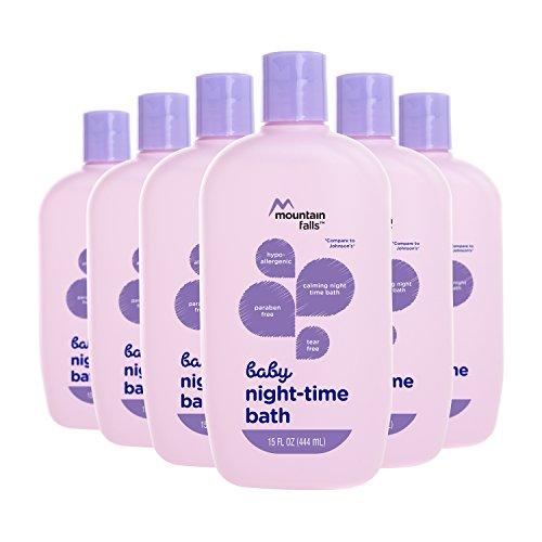 Mountain Falls Hypoallergenic Tear-Free Baby Night-Time Bath
