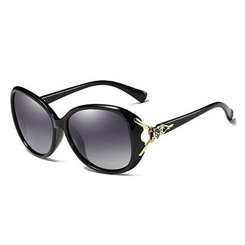 BigFamily dames de femmes élégantes lunettes de soleil polarisées Lunettes de soleil Femme Lunettes Prismatic quotidiennes