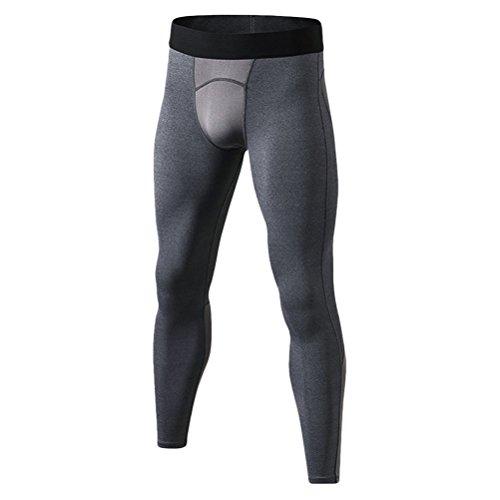 種をまく相反する風刺Zhhlinyuan プレミアム品質 Mens Base Layer Running Gym Sport Pants Skin Tights Compression Leggings