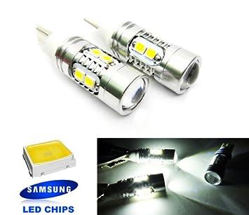 2 bombillas LED para coche Samsung 501 T10 168 194 W5W: Amazon.es: Coche y moto