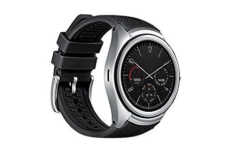 LG Urbane 2 Reloj Inteligente Negro, Metálico P-OLED 3,51 cm (1.38