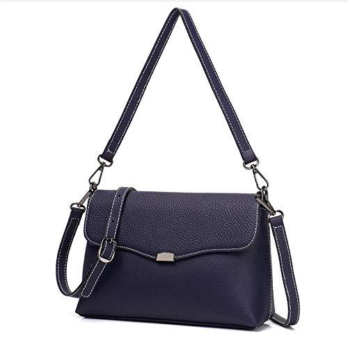 Oblique Lady Single Shoulder Small Bag Cowhide Side Layer B Leather Hongge Fashion Baotou Female qYw8xXf