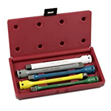 Neiko 02450A 1/2-Inch Drive Torque Stick Extension Bars, 65 to 140-Feet, CrMo 5-Piece Set