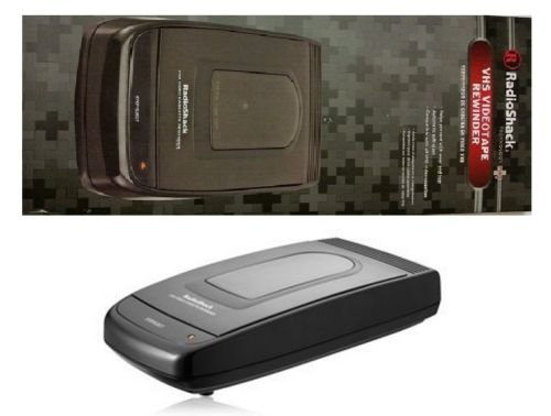 Best Deals! Radioshack VHS Video Cassette Tape Rewinder VCR Auto Stop Eject Fast 2-Minutes