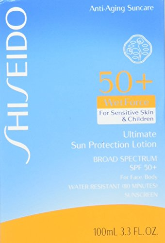 Shiseido/Ultimate Spf 50 Sun Protection Lotion Sensitive&Children 3.3 Oz