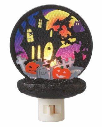 Halloween Haunted House Scene Night Light by Midwest Seasons (Seasons Halloween Store)