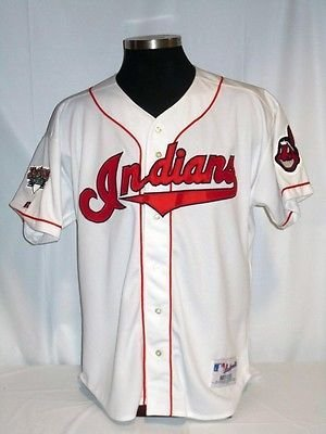 brand new 36757 43773 Cleveland Indians Authentic Russell Home Jersey w/Jacobs ...