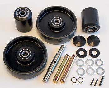 Complete Wheel Kit for Manual Pallet Jack - Fits Total Source, Model # TSP5500