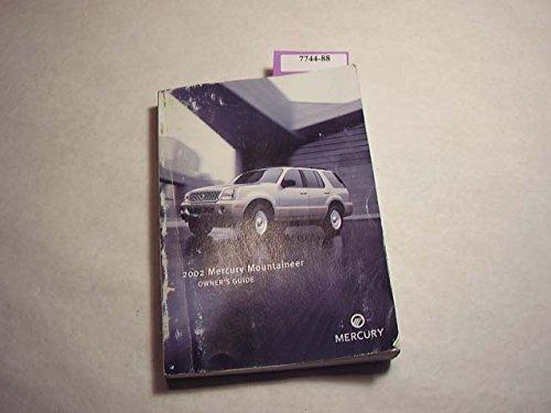 2002 Mercury Mountaineer Owner's Manual - 2002 Mercury Mountaineer Manual