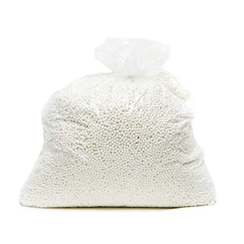 Gold Medal Virgin Expanded Polystyrene Bean Bag Refill, 5 Cubic Feet of Refill