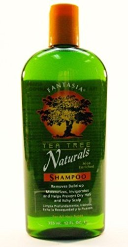 Fantasia Tea Tree (Fantasia Tea Tree Natural Shampoo 12oz (2 Pack))