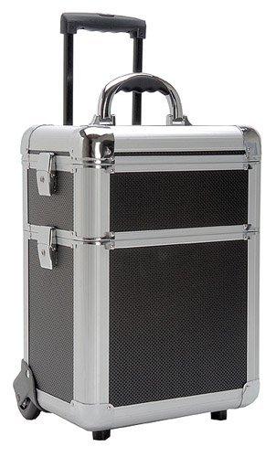 TZ Case AB311T-BH Miniature Professional Rolling Beauty Case - Black Hole by TZ Case
