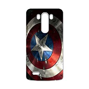 Captain America Shield Brand New And High Quality Hard Case Cover Protector For LG G3