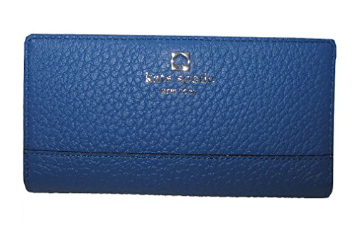 - Kate Spade New York Southport Avenue Stacy Leather Continental Wallet, Bluebelle