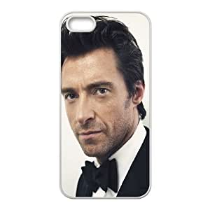iPhone 5 5s Cell Phone Case White Hugh Jackman Actor Hansome LSO7848811