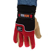 Doinshop New Arrival Windproof Men Thermal Winter Motorcycle Ski Snow Snowboard Gloves