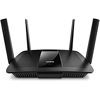 Linksys AC2600 Dual Band Wireless Router MU-MIMO, Works with Amazon Alexa (Max Stream EA8500)