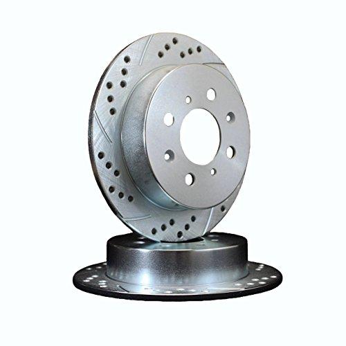 ATL Autosports Performance Brake Rotors REAR PAIR Fits 1990 BMW 325i [E30] [MFG After 10/1990] ATL03480-22DDS