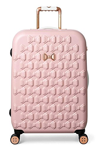 Ted Baker Women's Beau Collection Medium Hardside Spinner (Pink)