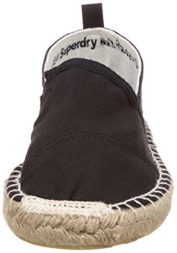 Superdry Espadry Espadrille Homme Chaussures Noir, Noir, 45 EU
