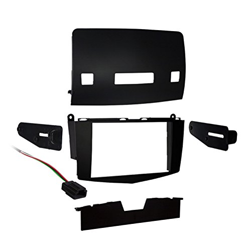 Metra 95-8717 Double DIN Installation Kit for Select 2007-Up Mercedes C-Class (Black)
