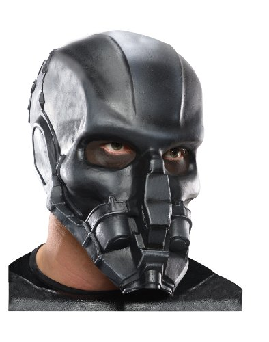 Man Of Steel Zod Costume (Rubie's Costume Man Of Steel Adult 3/4 General Zod Mask, Multi-Colored, One)