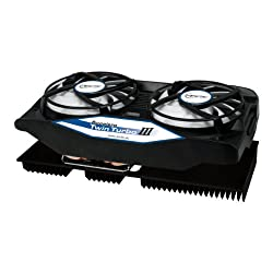 As a new generation of the Accelero dual-fan series, the Accelero Twin Turbo III has 250 Watts of cooling capacity which is more than enough for mid to high-end graphics cards. ARCTIC has developed and patented a back side cooler for previously unkno...