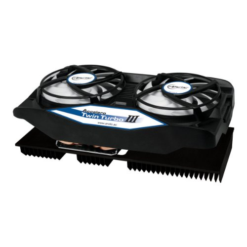 ARCTIC Accelero Twin Turbo III Graphics Card Cooler with Backside Cooler for Efficient RAM, VRM Cooling and VGA Cooler DCACO-V820001-GBA01