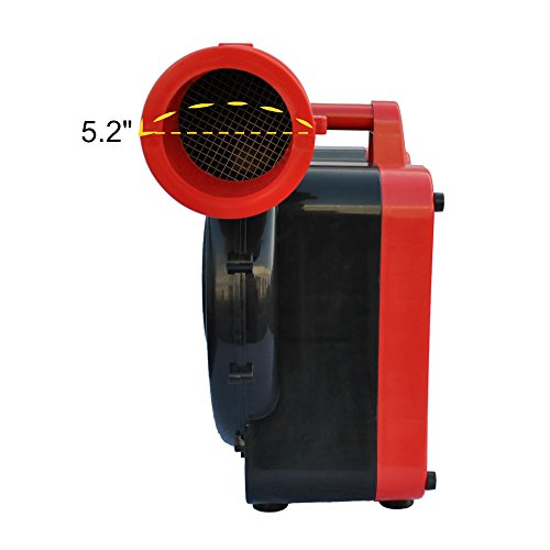 XPOWER BR-282A 2-HP 1500-CFM Indoor/Outdoor Inflatable Blower, 12-Amp by X-Power (Image #1)