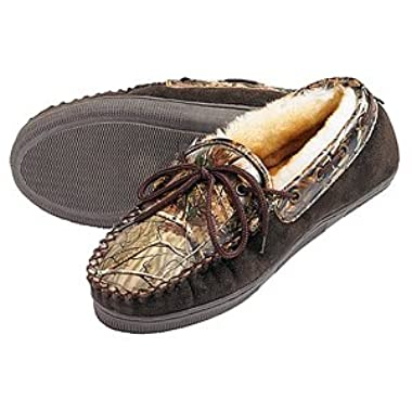 Webers Camo Adult Slippers 10 (Mens)
